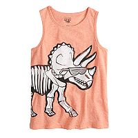 Boys 4-10 Jumping Beans® Graphic Heathered Tank Top