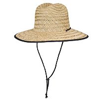 Men's Wembley Natural Straw Lifeguard Hat