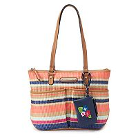 Rosetti Mina Striped Tote & Coin Purse