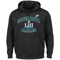 Boys 8-20 Philadelphia Eagles 2017 NFC Champions Heart & Soul Hoodie