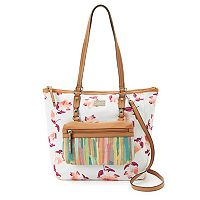 Rosetti Lizzy Printed Tote & Removable Bag
