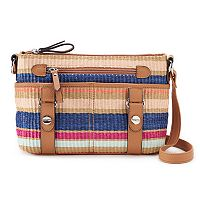 Rosetti Mindy Striped Mini Crossbody Bag