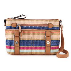 Rosetti Mindy Striped Mini Crossbody Bag