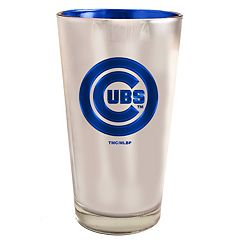 Chicago Cubs Electroplated Pint Glass