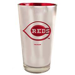 Cincinnati Reds Electroplated Pint Glass