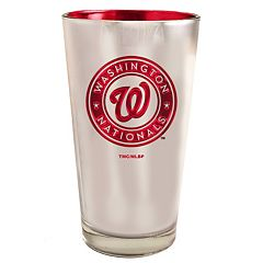 Washington Nationals Electroplated Pint Glass