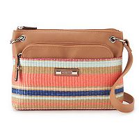 Rosetti Gilda Striped Mini Crossbody Bag