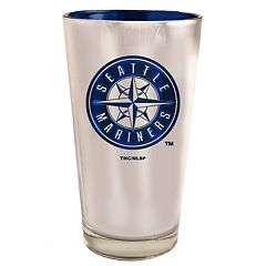 Seattle Mariners Electroplated Pint Glass