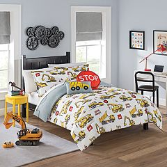 Waverly Kids Under Construction Reversible Comforter Set