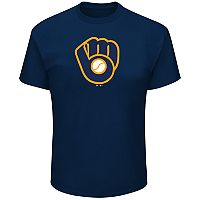 Big & Tall Milwaukee Brewers Precision Play Tee