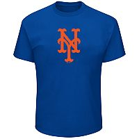Big & Tall New York Mets Precision Play Tee