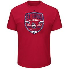 Big & Tall Majestic St. Louis Cardinals Savor the Victory Tee