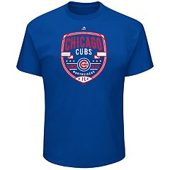 Big & Tall Majestic Chicago Cubs Savor the Victory Tee
