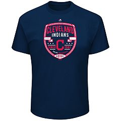 Big & Tall Majestic Cleveland Indians Savor the Victory Tee