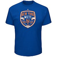 Big & Tall Majestic New York Mets Savor the Victory Tee