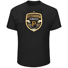 Big & Tall Majestic Pittsburgh Pirates Savor the Victory Tee