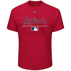 Big & Tall Majestic St. Louis Cardinals Team Drive Tee