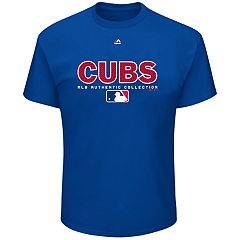 Big & Tall Majestic Chicago Cubs Team Drive Tee