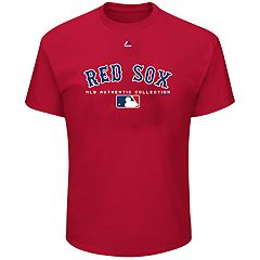 Big & Tall Majestic Boston Red Sox Team Drive Tee