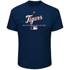 Big & Tall Majestic Detroit Tigers Team Drive Tee