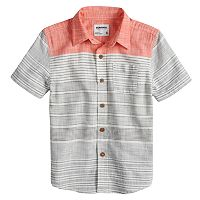 Boys 4-7x SONOMA Goods for Life™ Button Down Striped Shirt