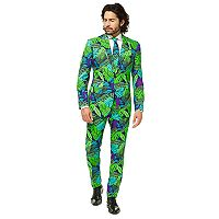 Men's OppoSuits Slim-Fit Juicy Jungle Suit & Tie Set