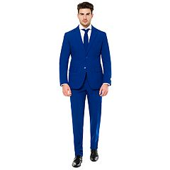 Men's OppoSuits Slim-Fit Navy Royale Flaminguy Suit & Tie Set