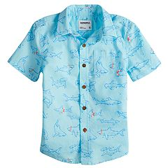 Boys 4-7x SONOMA Goods for Life™ Sharks Button Down Shirt