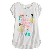 Disney Princess Ariel, Snow White, Belle & Cinderella Girls 4-10 Graphic Tee by Disney/Jumping Beans®