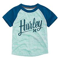Toddler Boy Hurley Colorblock Raglan Tee