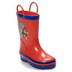 Paw Patrol Chase & Marshall Toddler Boys' Waterproof Rain Boots