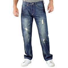 Men's True Luck Quest Vintage Slim-Fit Jeans
