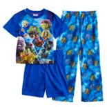 Boys 6-12 Marvel Comics 3-Piece Avengers Pajama Set
