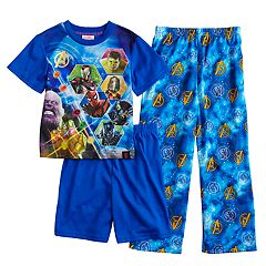 Boys 6-12 Marvel Comics 3-Piece Avengers Pajama Set