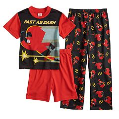 Boys 6-12 Disney / Pixar The Incredibles 3-Piece Pajama Set
