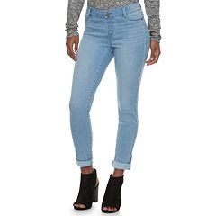 Women's Juicy Couture Flaunt It Cuffed Skinny Midrise Ankle Jeans