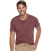 Men's SONOMA Goods for Life™ Classic-Fit Supersoft Henley