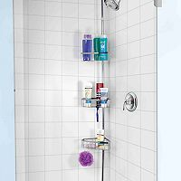 Home Basics 3-Tier Tension Shower Rod