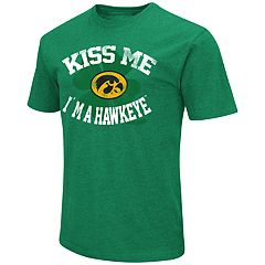 Men's Colosseum Iowa Hawkeyes St. Patrick's Day Tee