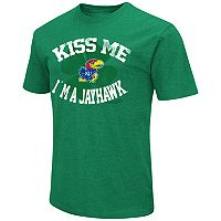 Men's Colosseum Kansas Jayhawks St. Patrick's Day Tee