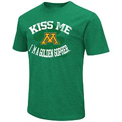 Men's Colosseum Minnesota Golden Gophers St. Patrick's Day Tee