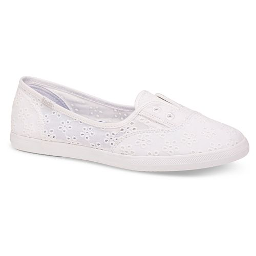 f7ba6724541 Keds Chillax Floral Eyelet Women s Slip-On Shoes