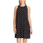 Petite Chaps Print Sheath Dress