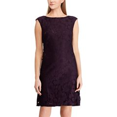 Women's Chaps Floral Lace Sheath Dress