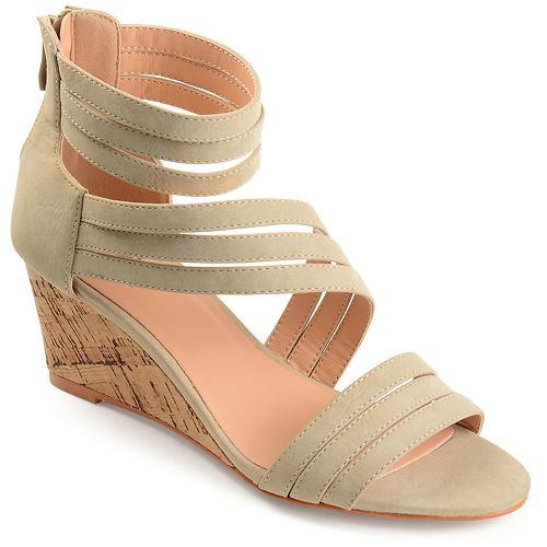 2bdb1a66677 Journee Collection Loki Women s Wedge Sandals