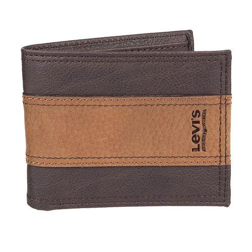 Men's Levi's RFID-Blocking Extra Capacity Traveler Wallet