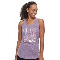 Women's Tek Gear® Graphic Racerback Tank