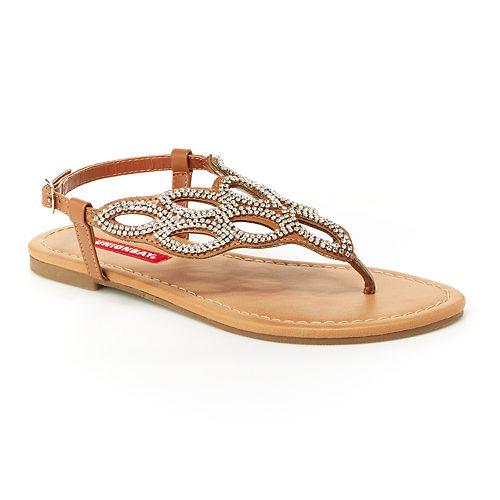 Unionbay Essex Women's Rhinestone Sandals