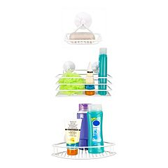 Home Basics Vinyl Basket & Suction Cup