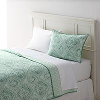 Home Classics® Sarah Watercolor Damask Quilted Sham